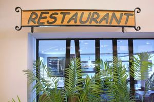 Restaurant Signage - The Turning Point Joinery
